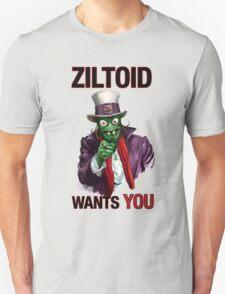 Uncle Ziltoid Wants You! Unisex T-Shirt
