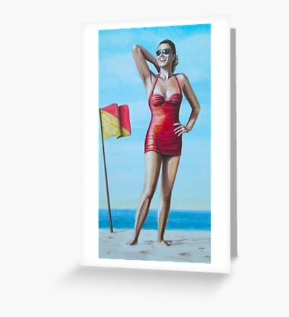 Surfs Up ! Greeting Card