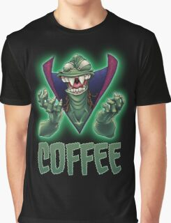 Ziltoid Needs COFFEE Graphic T-Shirt