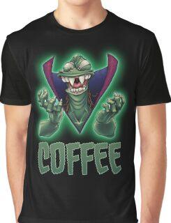Ziltoid Needs COFFEE Graphic T-Shirt