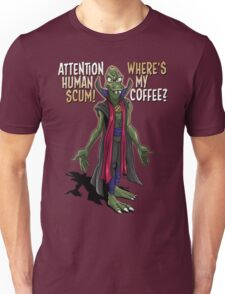 Where's My Coffee? Unisex T-Shirt
