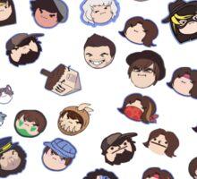 Every official Grump Head (2/14/2016) Sticker