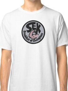 James Hunt Sex Breakfast of Champion Classic T-Shirt