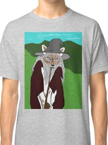a wise old cat errrm wizard. i meant wizard! Classic T-Shirt