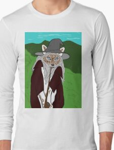 a wise old cat errrm wizard. i meant wizard! Long Sleeve T-Shirt