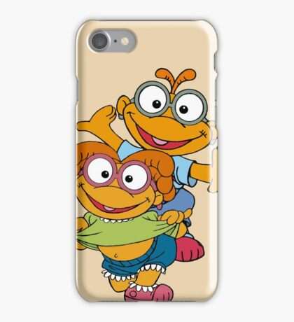 Muppet Babies - Skooter & Skeeter iPhone Case/Skin