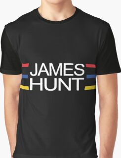 James Hunt Helmet Design Graphic T-Shirt