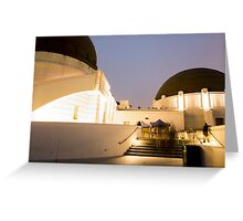 Griffith Park Observatory No. 3 Greeting Card