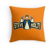 Steve Holt! Throw Pillow