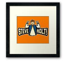 Steve Holt! Framed Print
