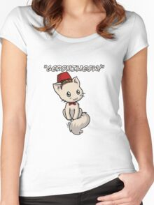 Geronimeow Women's Fitted Scoop T-Shirt