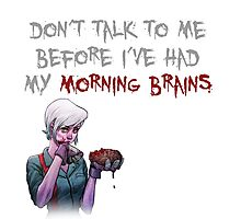 Morning Brains Photographic Print