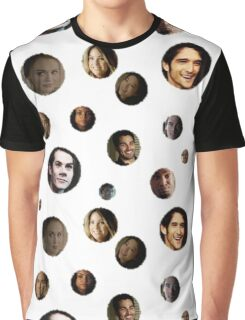 Teen Wolf Polka Dots Graphic T-Shirt