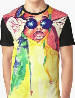 Colourful Graphic T-Shirt