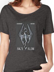 Skyrim Legendary Edition Women's Relaxed Fit T-Shirt