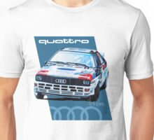 Audi Quattro Rally Drawing - Cold Unisex T-Shirt