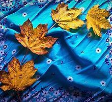 Newly Fallen Leaves by Shawna Rowe