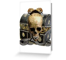 Guardians Of A Treasure Trove Greeting Card