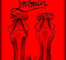 Red Red Red Bottom Heels by Arts4U