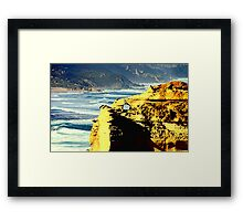 Key hole Rock Framed Print