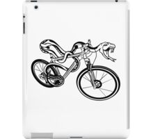 Snake Riding  A Bike iPad Case/Skin