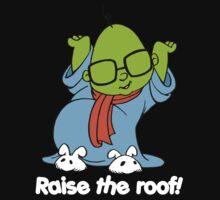 Muppet Babies - Bunsen - Raise The Roof - White Font One Piece - Long Sleeve