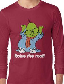 Muppet Babies - Bunsen - Raise The Roof - White Font Long Sleeve T-Shirt