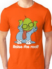 Muppet Babies - Bunsen - Raise The Roof - White Font Unisex T-Shirt
