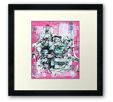 Pink I Framed Print