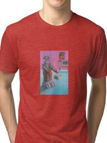 Danger Will Robinson. Tri-blend T-Shirt