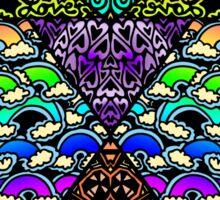 Rainbow Doodle Sticker