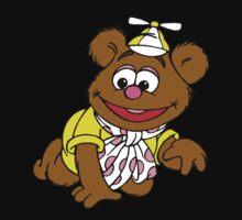 Muppet Babies - Fozzie Bear - Crawling One Piece - Short Sleeve