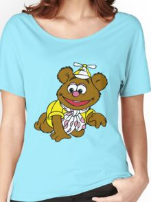 Muppet Babies - Fozzie Bear - Crawling Women's Relaxed Fit T-Shirt