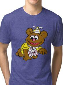 Muppet Babies - Fozzie Bear - Crawling Tri-blend T-Shirt