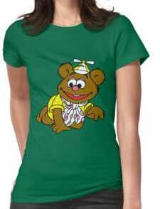 Muppet Babies - Fozzie Bear - Crawling Womens Fitted T-Shirt