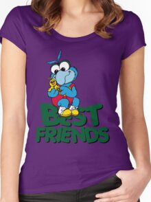 Muppet Babies - Gonzo & Camilla 01 - Best Friends Women's Fitted Scoop T-Shirt