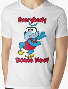Muppet Babies - Gonzo 01 - Everybody Dance Now Mens V-Neck T-Shirt