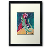 The Two Dragons Framed Print