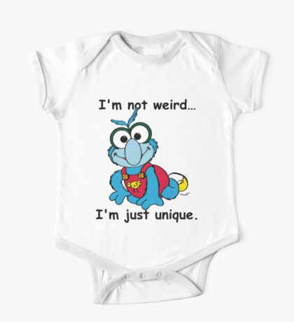 Muppet Babies - Gonzo 02 - I'm Not Weird... One Piece - Short Sleeve