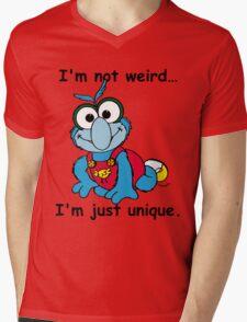Muppet Babies - Gonzo 02 - I'm Not Weird... Mens V-Neck T-Shirt