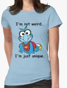 Muppet Babies - Gonzo 02 - I'm Not Weird... Womens Fitted T-Shirt