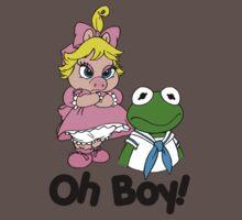 Muppet Babies - Kermit & Miss Piggy - Oh Boy Baby Tee