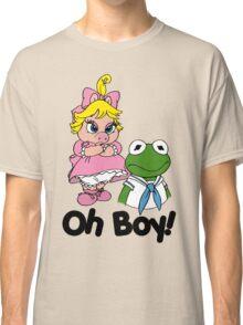 Muppet Babies - Kermit & Miss Piggy - Oh Boy Classic T-Shirt