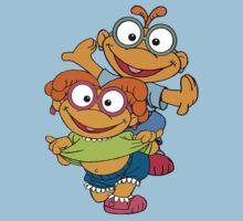 Muppet Babies - Skooter & Skeeter Baby Tee