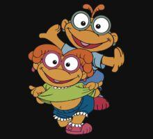 Muppet Babies - Skooter & Skeeter One Piece - Short Sleeve