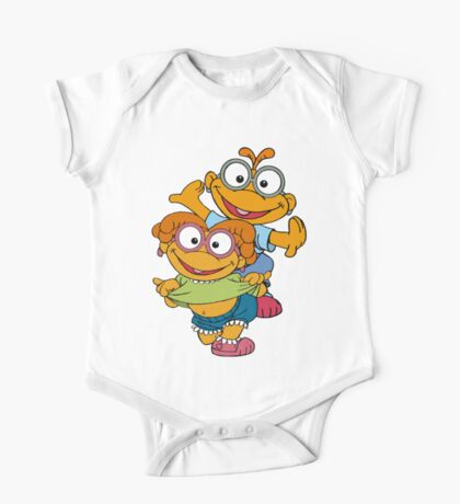 Muppet Babies - Skooter & Skeeter One Piece - Short Sleeve