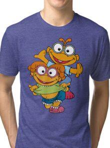 Muppet Babies - Skooter & Skeeter Tri-blend T-Shirt