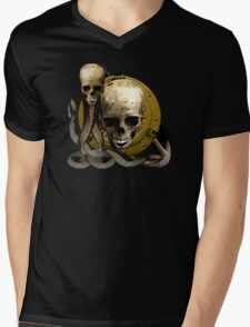 Shields Of Pirate Booty Mens V-Neck T-Shirt