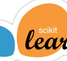 scikit learn logo  Sticker