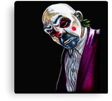 the Joker- Bank robber mask Canvas Print